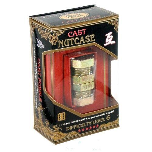 Cast Puzzle Nutcase Metallpuzzle Level 6