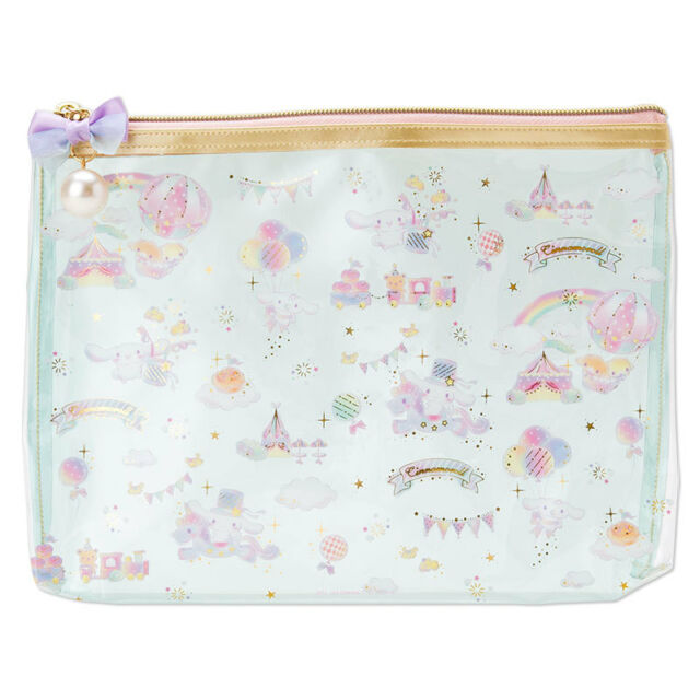 2016 Sanrio Cinnamoroll Dog Cosmetic Bag Multipurpose Pouch ( L ) ~ NEW