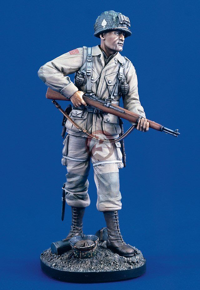 Verlinden 120mm (1 16) US Airborne Paratrooper Easy Co 506 PIR 101st WWII 1764