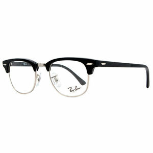 ray ban clubmaster eyeglasses rx 5154 2000 black 49mm ebay