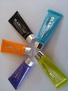 Glamglow-GravityMud-YouthMud-FlashMud-ThistyMud-PowerMud-Travel-Size-7g-Sealed