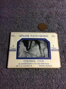 Arizona Postcard Colossal Caves Hall Of Adventure Barroom Scene Tucson Arizona Vintage Postcard