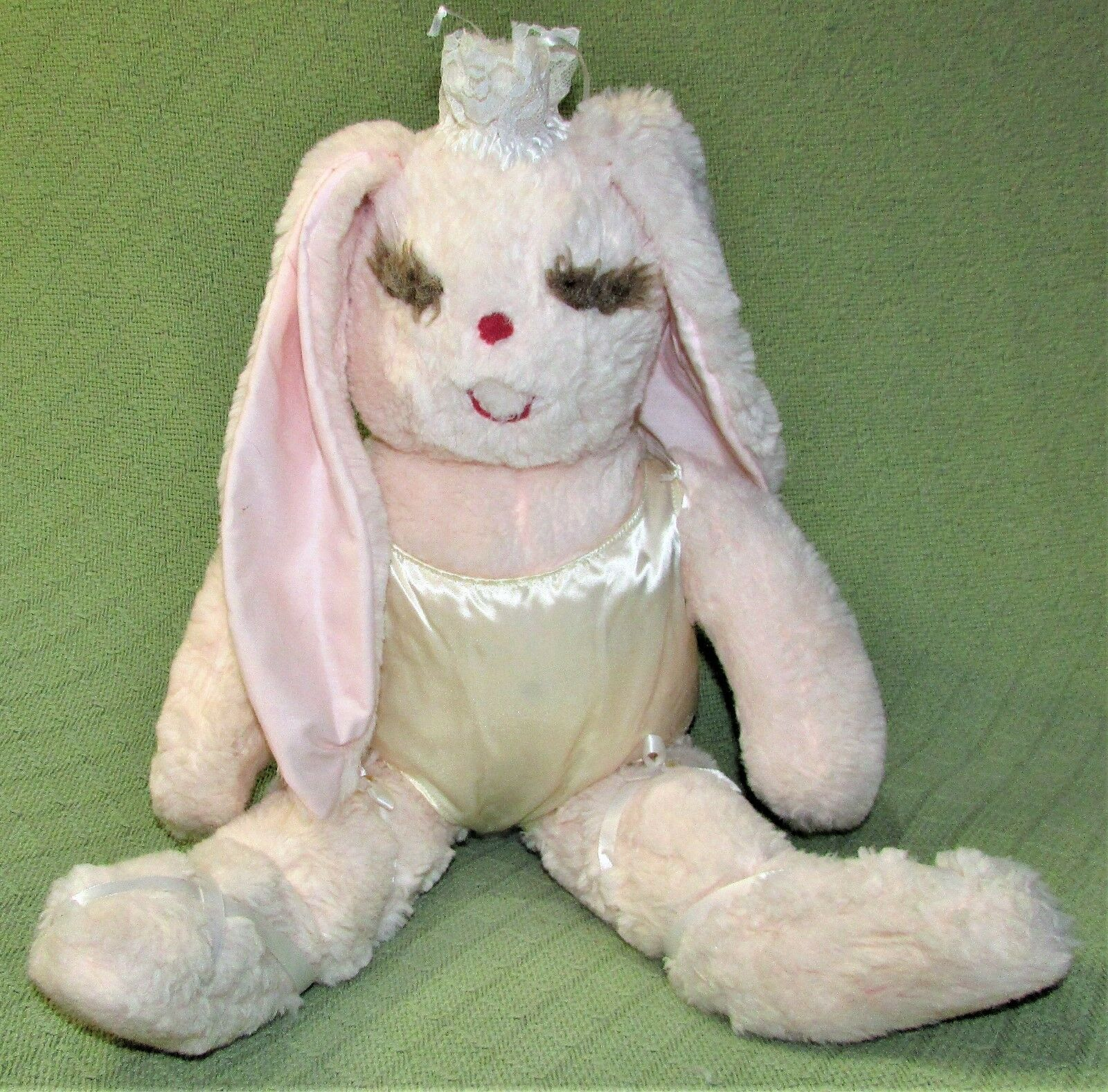 Vintage MS NOAH BALLERINA BUNNY Rosa Plush DOLL Stuffed Animal 22