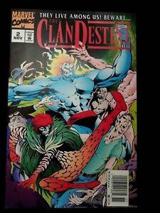 Clandestine-They-Live-Among-Us-2-NM-Marvel-Nov-1994