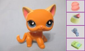 Littlest Pet Shop Cat Shorthair Puzzle No Number And Free Accessory
