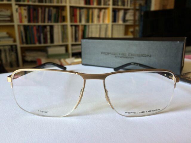 Etui PORSCHE DESIGN P 8509 B Sonnenbrille Brillen Fassung Gestell Brille inkl