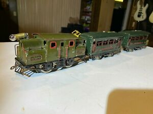 Lionel-O-Gauge-153-With-629-And-630-From-1924