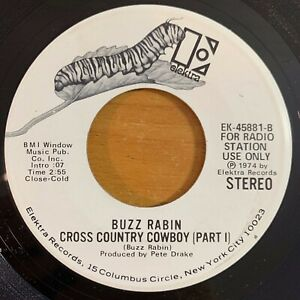 Buzz-Rabin-There-039-s-A-Jekyll-Under-Everybodys-Hyde-7-034-US-Promo-1974-TOP