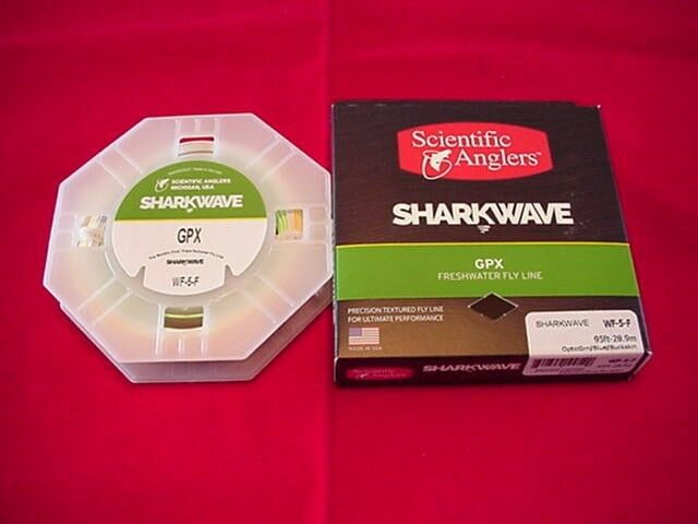 Scientific Angler Fly Line nuovo Sharkwave GPX Bright WF9F Triple Texturosso Line