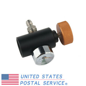 3000psi Paintball CO2 Adapter Fill Station On//Off 3000psi Gauge With Filter US