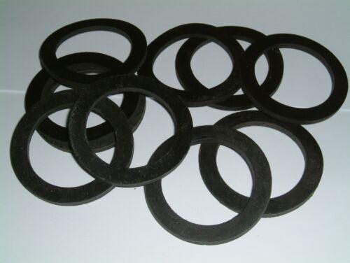 diverses quantités Caoutchouc Rondelles 57 mm O//D x 42 mm I//D x 3 mm THK