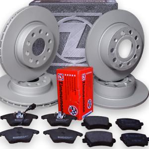 VW Tiguan 1,4-TFSI  Bremsen Zimmermann komplett Kit Bremsscheiben Bremsbeläge