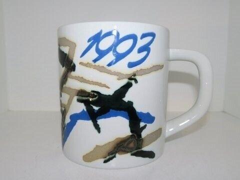 Porcelæn, Royal Copenhagen  Stort årskrus 1993, Royal