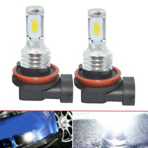 2X-Car-H11-H8-H9-LED-Headlights-Bulbs-Kit-High-Low-Beam-Bright-35W-4000LM-6000K