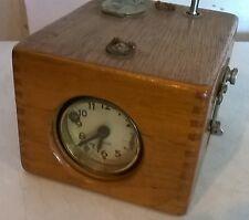 Vintage Benzing Pigeon Racing Clock With Key