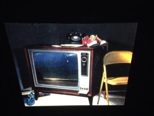 """Alfred Leslie /""""Television Moon 1978/"""" Modern Art 35mm Glass Slide"""