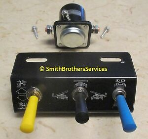 Meyer    Plow    Toggle Switch Control Package E47 E57 E60   eBay