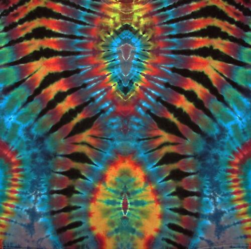 shirt Power 5xl Flower Goa Kurzarm Neu s Tie T Dye Hippie Batik Handgefärbt Gr FqPdacBw4