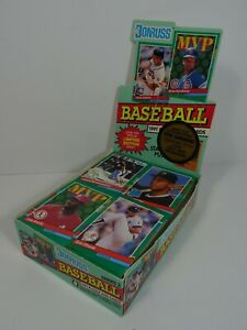 1991-Series-2-Donruss-Baseball-Puzzle-and-Cards-Opened-Box