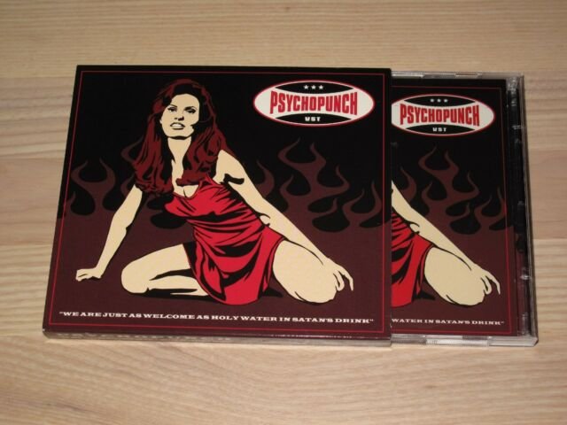 PSYCHOPUNCH 2 CD - WE ARE JUST AS WELCOME AS HOLY WATER IN SATAN'S DRINK in MINT
