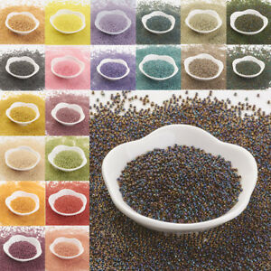 10g-11-0-Japan-Import-Round-Glass-Seed-Beads-2x1-5mm-Hole-0-5mm-about-900pcs