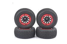 12mm Hex 1:10 Scale RC Short Course Truck Tire Wheel  4PCS For TRAXXAS SlASH