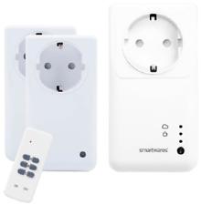 Smartwares SH4-99552 Funksteckdosen im 3er Set mit Fernbedienung bis 1000W