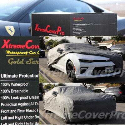 1998 1999 2000 2001 2002 CHEVY CAMARO WATERPROOF CAR COVER W//MIRRORPOCKET GREY