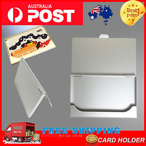 Cost price aluminium metal business card holder case credit id ebay image is loading cost price aluminium metal business card holder case reheart Images