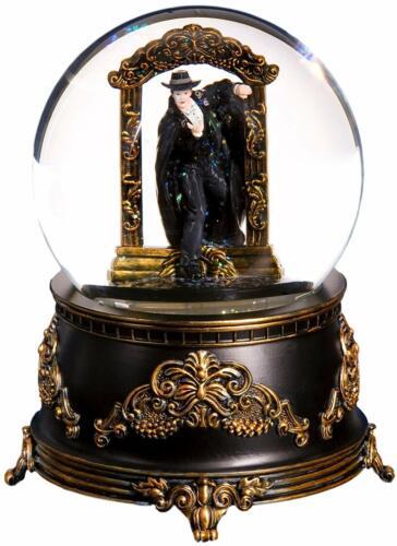 Phantom Stepping through Mirror Water Globe San Francisco Music Box