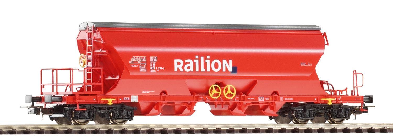 PIKO 54630 carri merci fondi stessi carrello scarico Tanoos 896 Railion h0