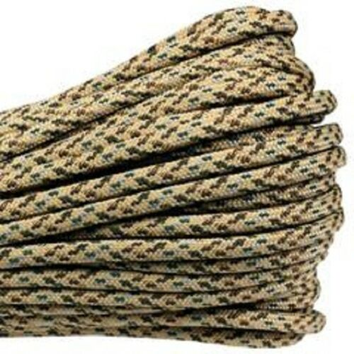 Desert Camo Boot Laces *Guaranteed for Life* 550 Paracord Steel Tip Shoelaces