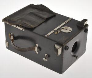J-Garcin-rare-black-Wooden-Detective-Camera-9x12-ca-1890-1900-without-plates
