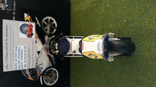 Moto Gp Honda Nsr 500 1987 W. Gardner 1/12 Minichamps 122870002 Miniature Collec