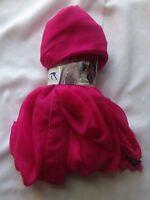 Sax Scarf Vest Pink One Size 100%polyester Upc 710230078389 Rn146417