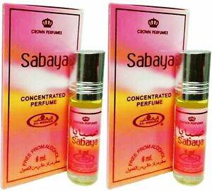Details about SABAYA By Al Rehab Perfume Oil 6ml Attar Free from alcohol (2 PACK)