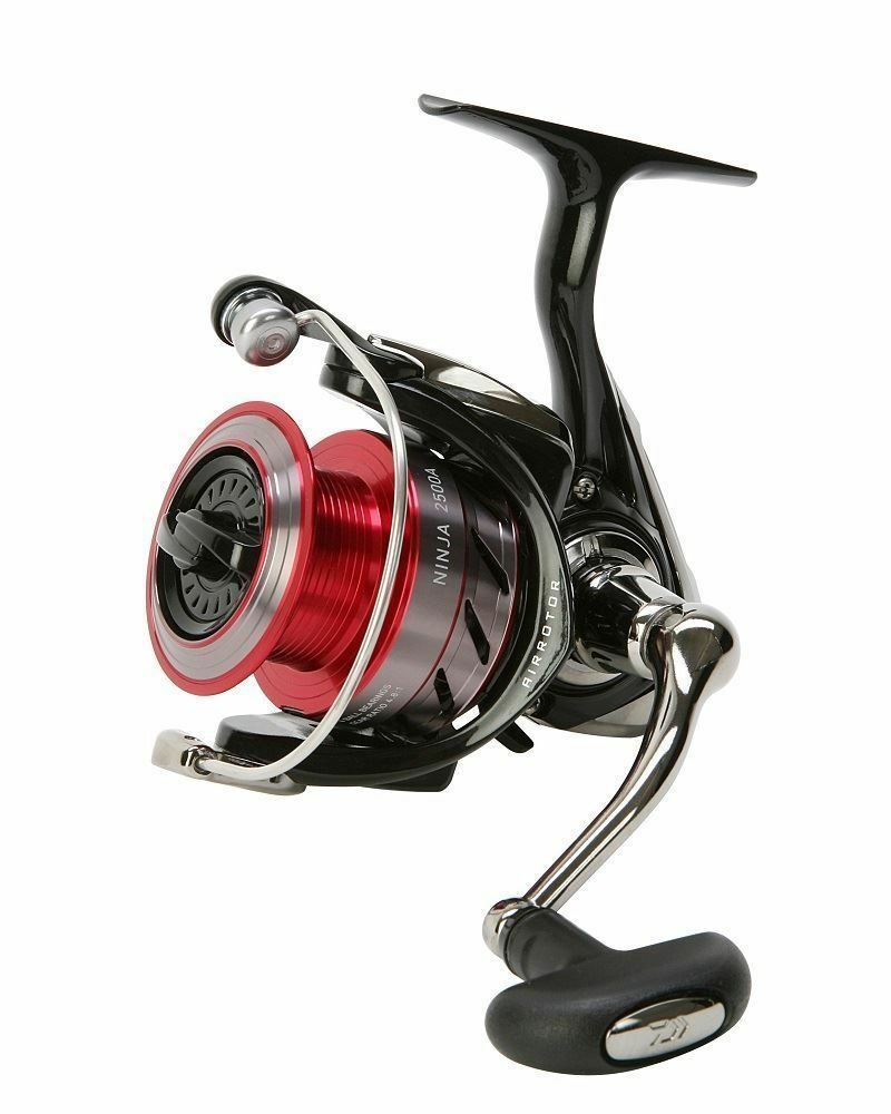Daiwa Ninja Spinning Fishing Reel - 2500A - NJ2500A