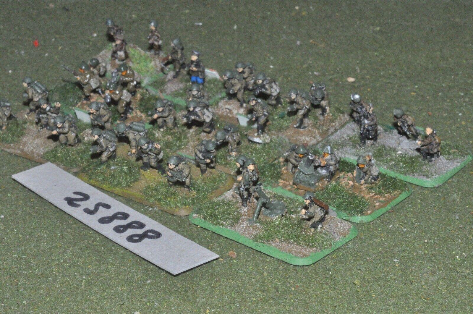 15mm WW2   russian - platoon 36 figures - inf (25888)