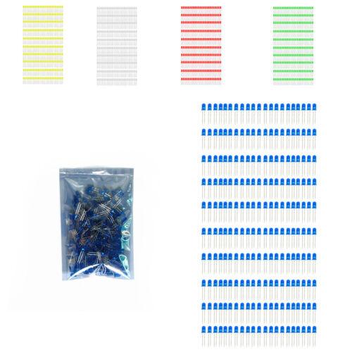200pezzi Diodo LED 5mm Lampada Ultra Luminoso Lampadina A LED Luce Speciale