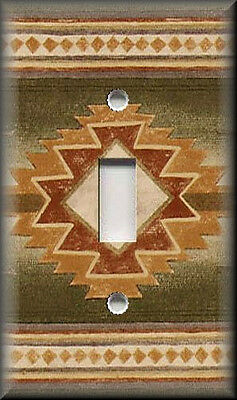 Light Switch Plate Cover - Southwestern Pattern 01 - Home Decor