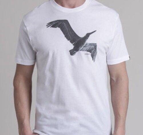 Nixon Fly Short Sleeve Tee T-Shirt White S1653100-05 XL