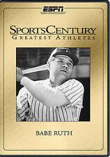 SPORTS CENTURY GREATEST ATHLETES BABE RUTH (DVD, 2007)