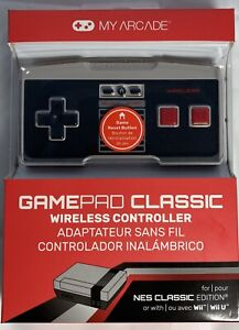 New My Arcade GamePad Classic Wireless Controllers for NES Classic Wii and Wii U