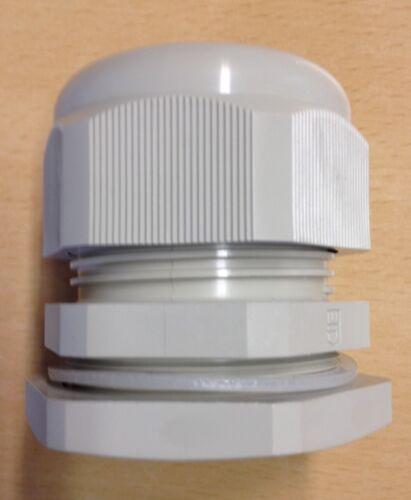 Kunststoff-Kabelverschraubung mit Gegenmutter M50 x 1,5 Verschraubung M 50 Nr36o