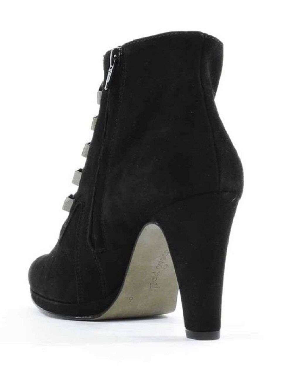 Paul Green Womens Eliza Boots Black Suede US US US 10 NEW IN BOX b86c58
