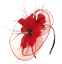 Grand Bandeau Noir Aliceband Chapeau Bibi Mariage Femmes Course Royal Ascot