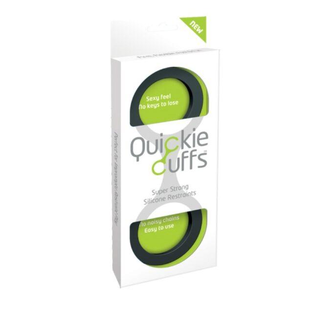 Quickie Cuffs Large Soft Silicone Wrist Hand Cuffs -1454