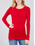Basic-Long-Sleeve-Solid-Top-Womens-Plain-Cotton-T-Shirt-Stretch-Tight-Crew-Neck thumbnail 25