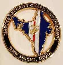 USMC Marine Security Guard Detachment Dept of State MSG-Det New Delhi India