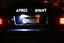 LUCI-TARGA-LED-LAMPADA-LAMPADINA-BIANCO-LUCE-XENON-per-RENAULT-MEGANE-CLIO-3 miniatura 3